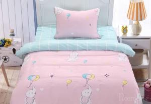 Детское постельное белье Бруно (розовый)
