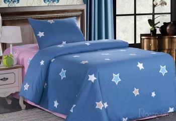 Постельное белье Звездочки (синие)