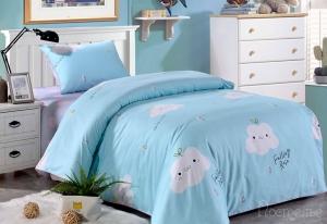 Детское постельное белье Тучка (голубая)