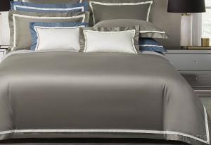 Элитное постельное белье Sharmes Amour (сумеречно-серый)