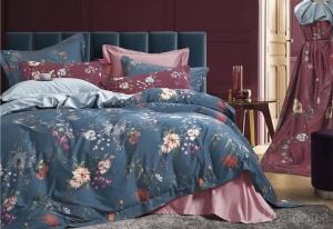 Элитное постельное белье Sharmes Aster Blue