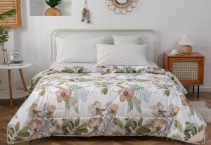 Одеяло без пододеяльника Азиза (зеленый)