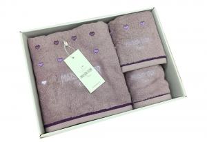 Полотенца CANDY LOVE (фиолетовый)