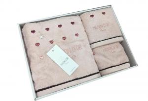 Полотенца CANDY LOVE (грязно-розовый)