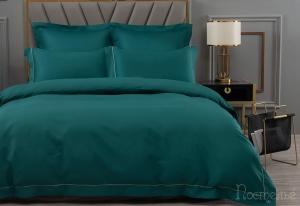 Однотонное постельное белье Дайкири (бирюза)