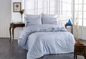 Элитное постельное белье D'OR (голубой)
