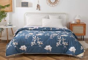 Одеяло без пододеяльника Долли (синий)
