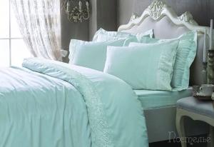 Элитное постельное белье Elegant (бирюза)