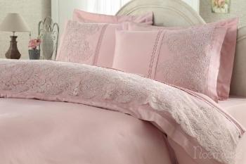 Постельное белье Elmas темно-розовый