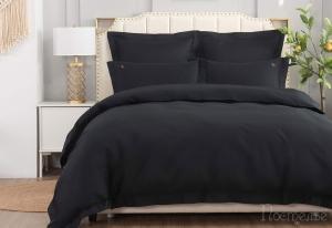 Элитное постельное белье Флоренция (черная)