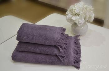 Полотенце FRINGE фиолетовый