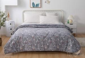 Одеяло без пододеяльника Холли (серая)