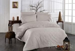 Элитное постельное белье IRINOVA (бежевый)