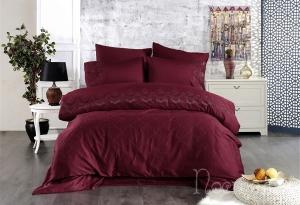 Элитное постельное белье IRINOVA (бордовый)
