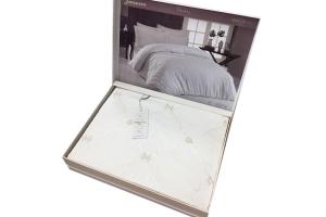 Элитное постельное белье JUANNA (крем/персик)