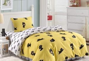 Детское постельное белье Кити (желтый)