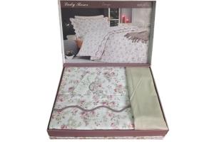 Элитное постельное белье LADY ROSES (беж)
