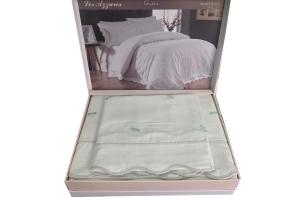 Элитное постельное белье LES AZZURES (бирюза)