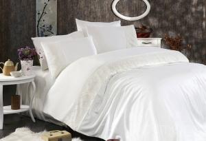 Элитное постельное белье MARIA (кремовый)