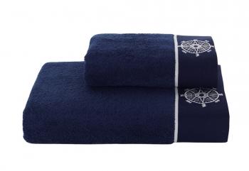 Полотенца Marine Lady темно-синий