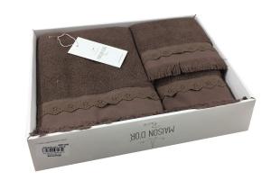 Полотенца MELISSA (шоколад)