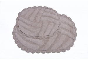 Набор ковриков NANCY (мокко)