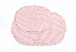 Набор ковриков NANCY (пудра)