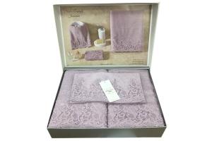 Полотенца NEW TRENDY (фиолетовый)