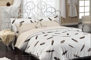 Элитное постельное белье PLUMES (беж)