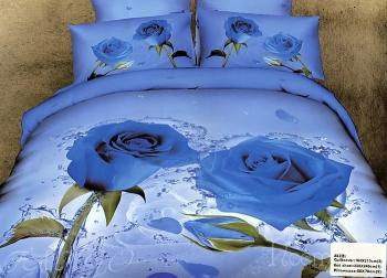 Постельное белье Blue Roses
