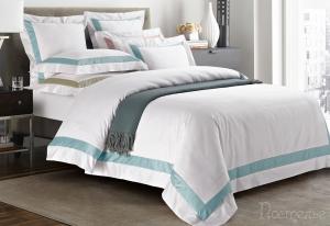 Элитное постельное белье Sharmes Prime (голубая бирюза)