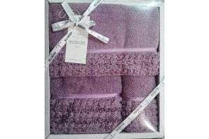 Полотенца ROSA (фиолетовый)