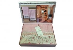 Полотенца ROSES (розовый)