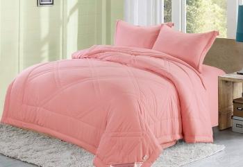 Набор с одеялом Сандра (малиновая)