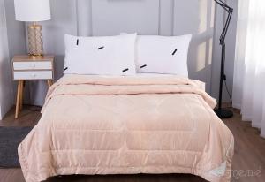 Одеяло без пододеяльника Шарлиз (персик)
