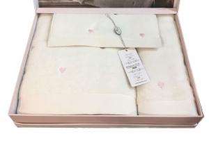 Полотенца SOFT HEARTS (крем)