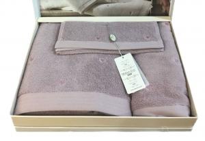Полотенца SOFT HEARTS (фиолетовый)