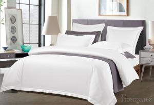 Элитное постельное белье Sharmes Soho (белый)