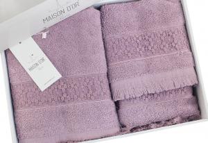 Полотенца SUZANNE (фиолетовый)