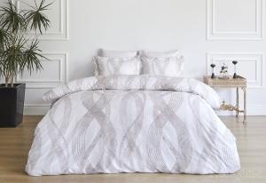 Элитное постельное белье VALOR серый