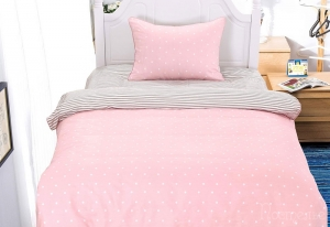 Детское постельное белье Виоланта (розовая)